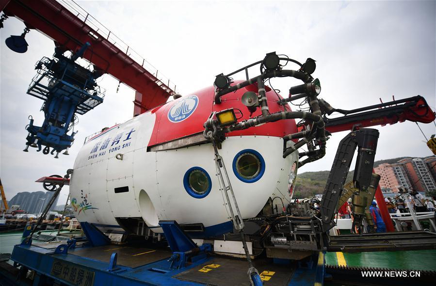 我國載人深潛器首次完成覆蓋西南印度洋和中印度洋的深潛科考