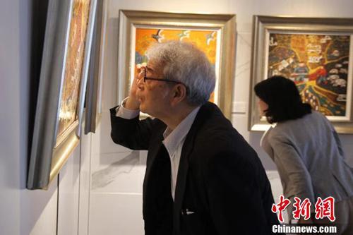 中國農民漆畫亮相日本獲青睞