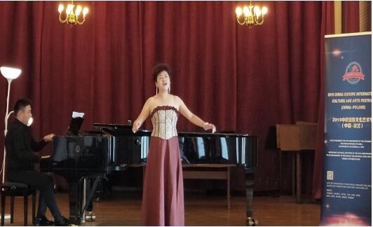李萌睿荣获中欧国际声乐奖项