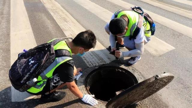 百名西安建科大学子开启排查市政雨污管网社会实践