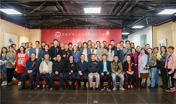 聚首长安——百名画家献礼新中国成立70年美展在西安中国画院美术馆开幕