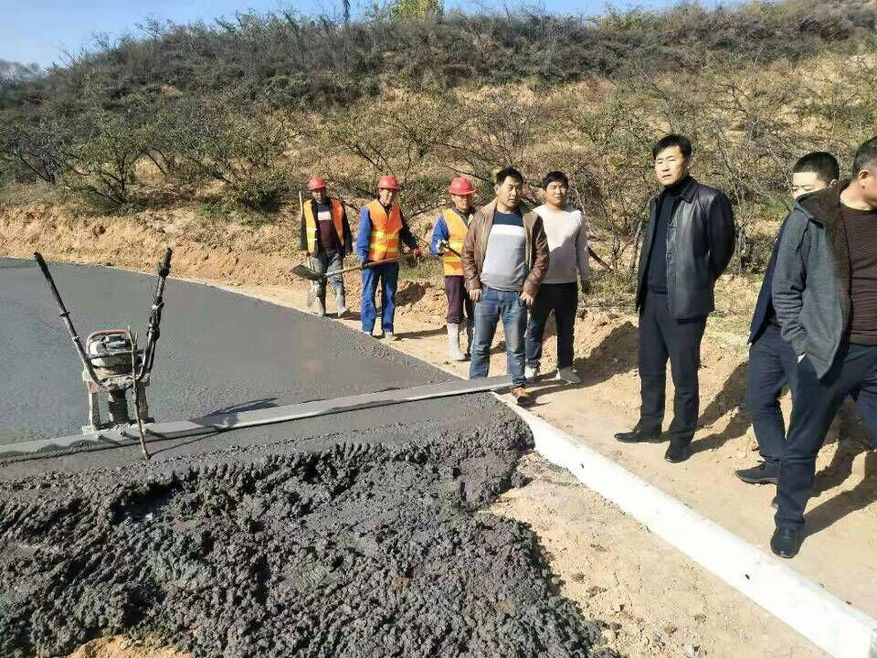 韩城2019年贫困村道路建设项目全部完工