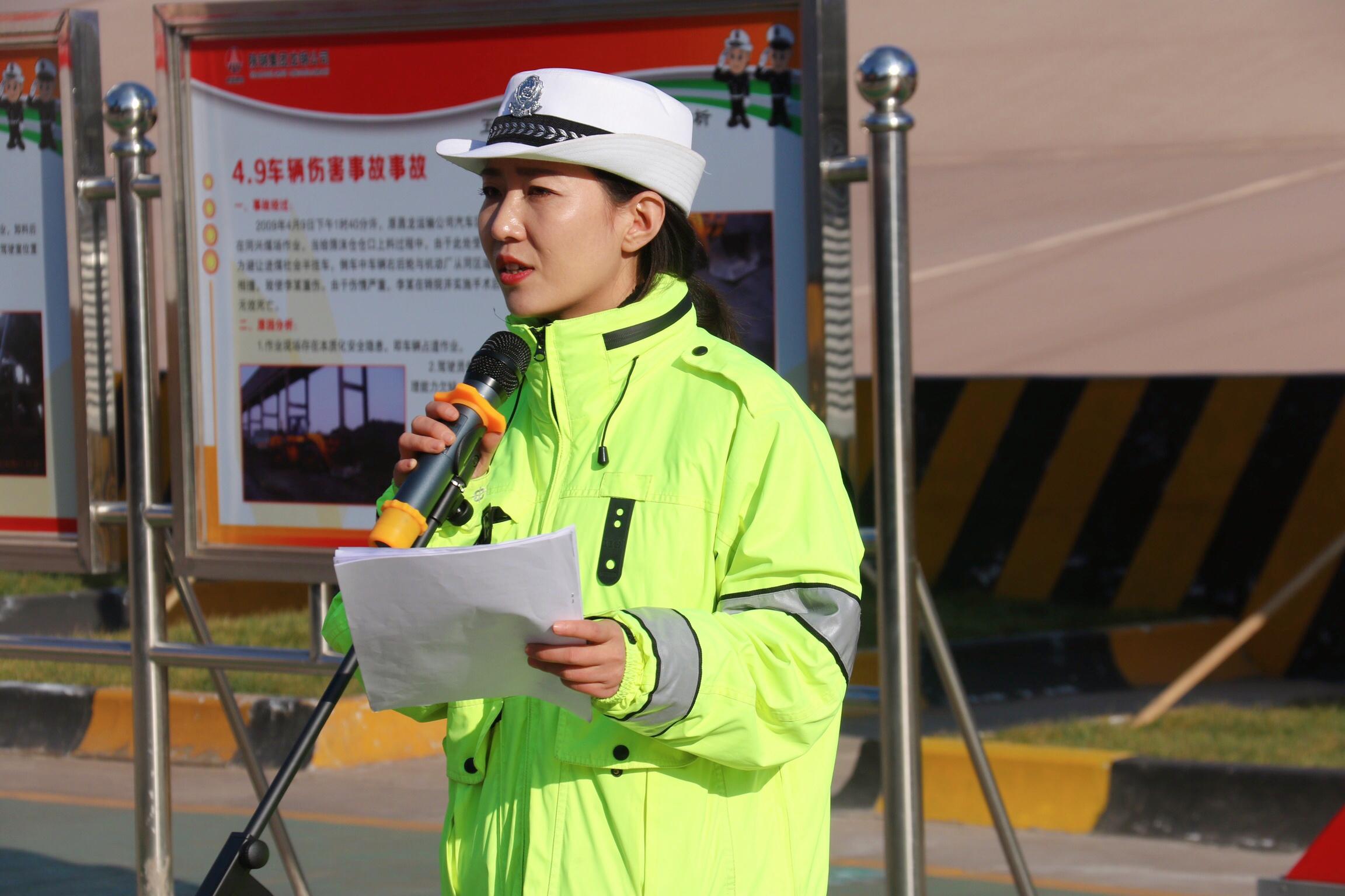 韩城交警:走进企业开展交通安全宣传大讲堂活动