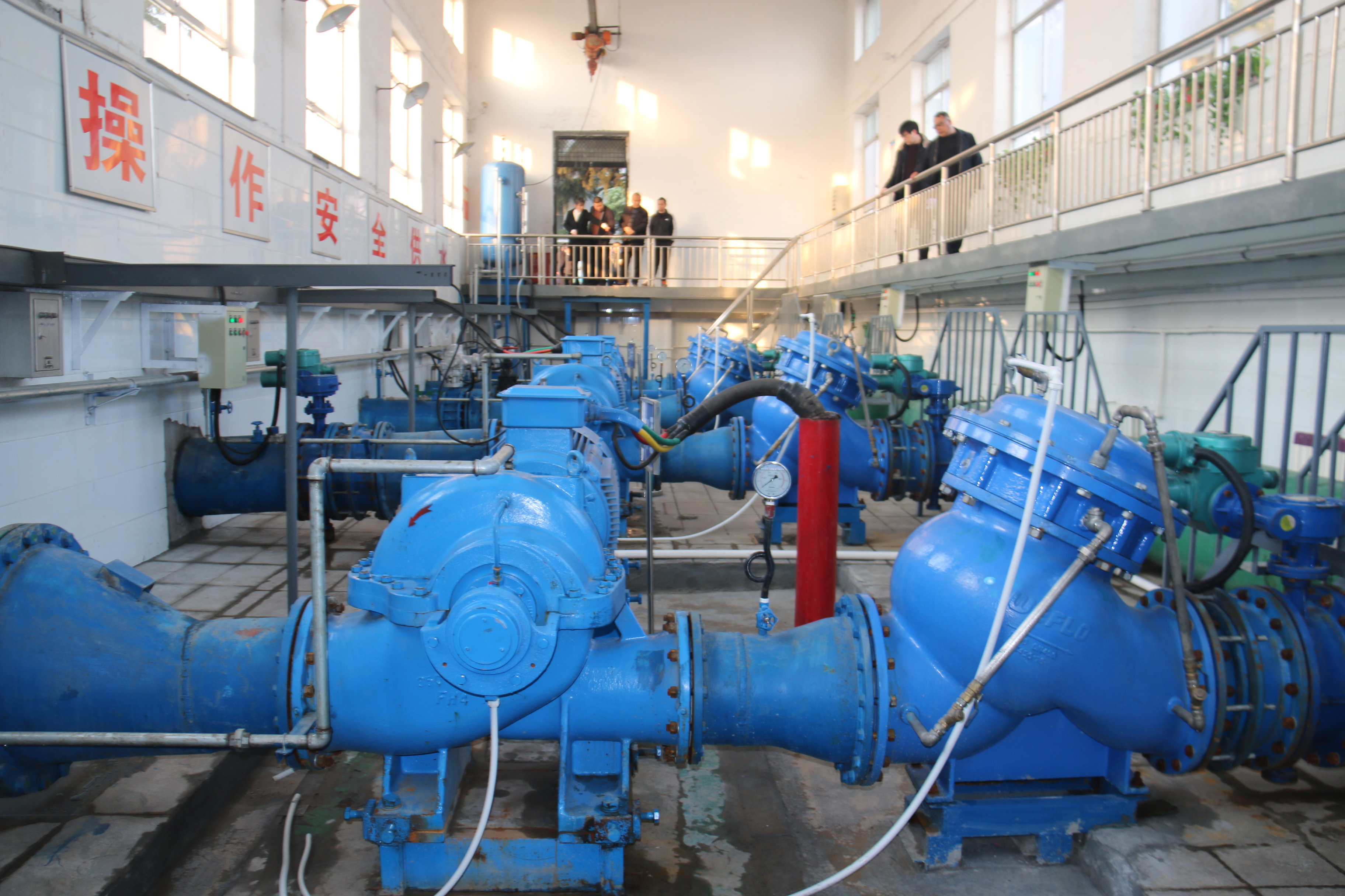 韩城水务公司多措施增加供水效益全年售水量达3058万方