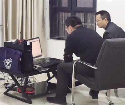 微信记录布网        周至警方抓