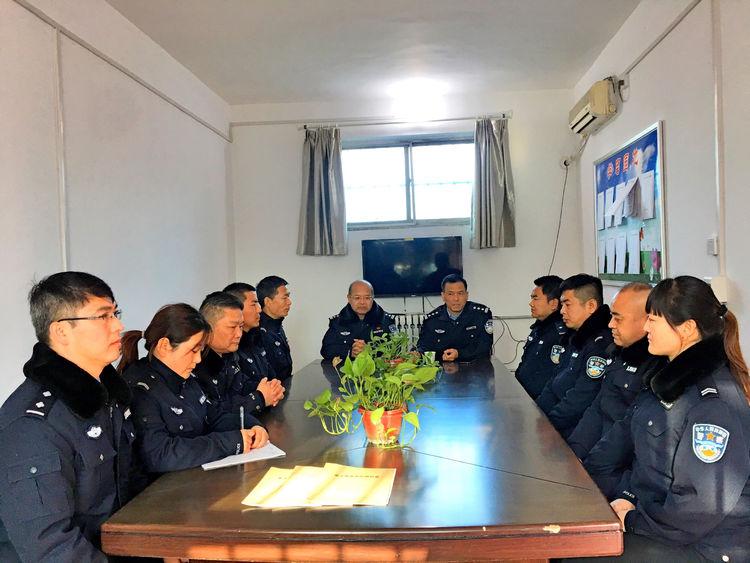韩城公安:象山分局以内务管理为