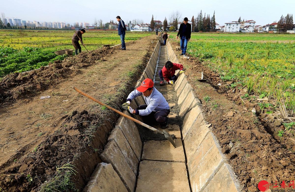 漢中市石門灌區推進高標準水利工