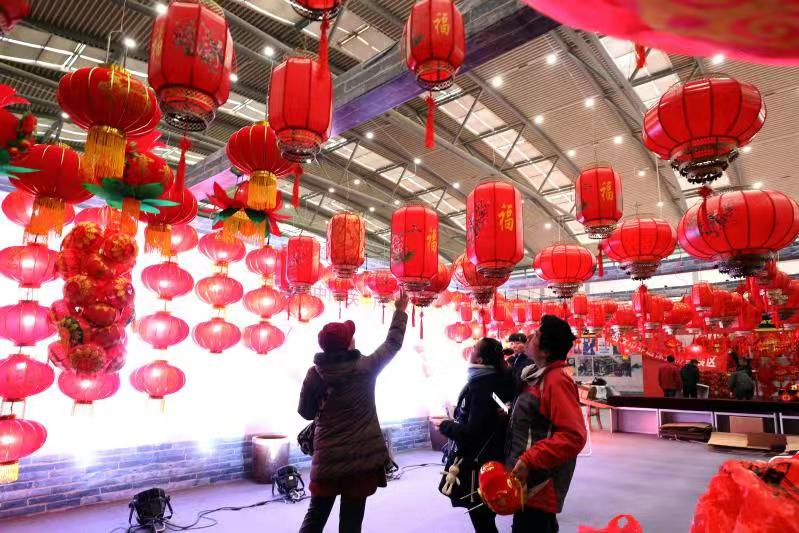 2020陕西新春年货购物节、年俗文化展在西安隆重开幕