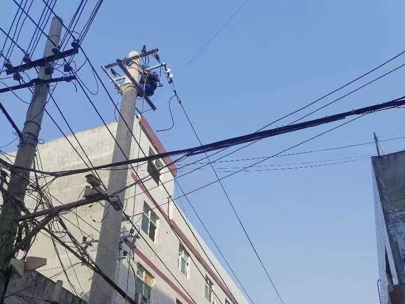 西安供電公司治理房線矛盾保安全