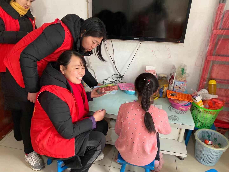 【韩城市新城办】玉屏山社区开展党建引领关爱留守儿童活动