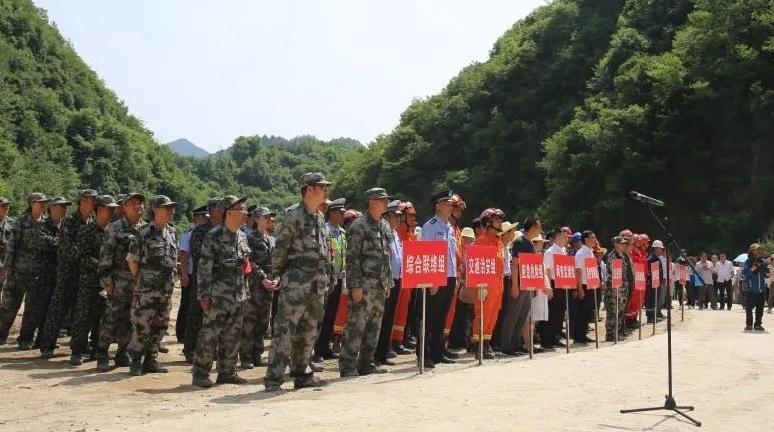 洋县公安局圆满完成汉中地质灾害处置应急演练交通治安防控执勤任务
