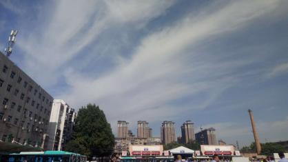 今天陕西省晴间多云为主 陕北有阵性天气