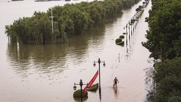 全國433條河流已超警 未來幾天鄱陽湖水位將繼續上漲