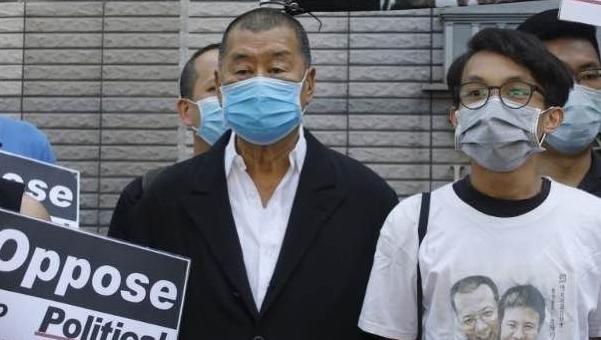 黎智英涉煽惑非法集結罪押后至9月15日再訊