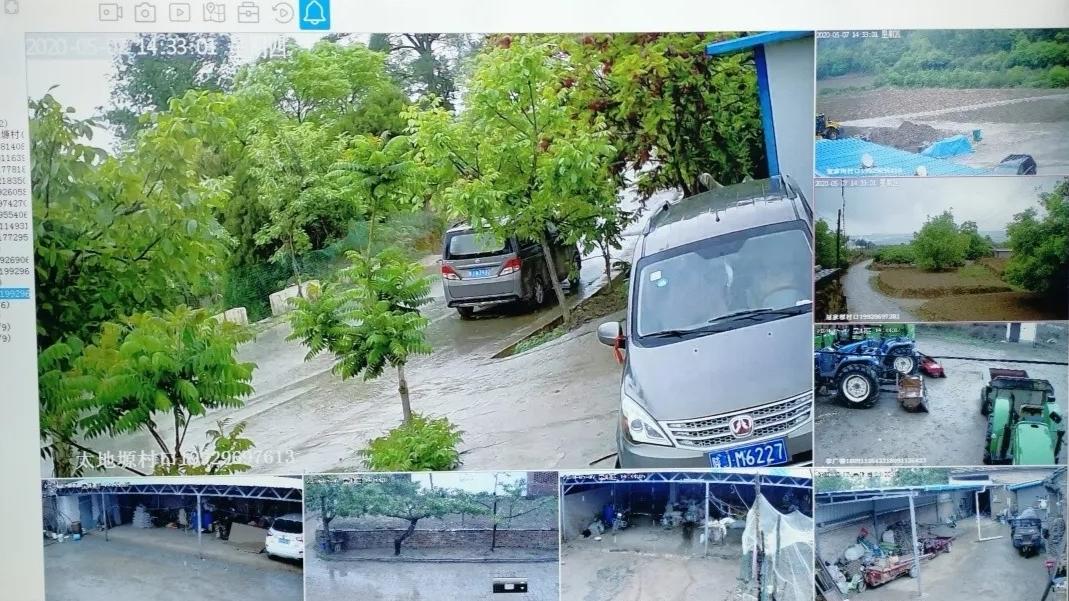黄龙县崾崄乡:请注意,您已进入监控区域!