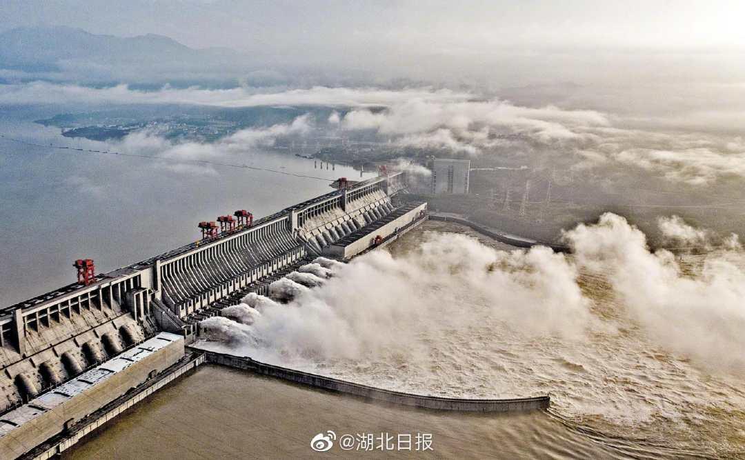 長江3號洪水正形成 荊江大堤將長時間高水位擋水