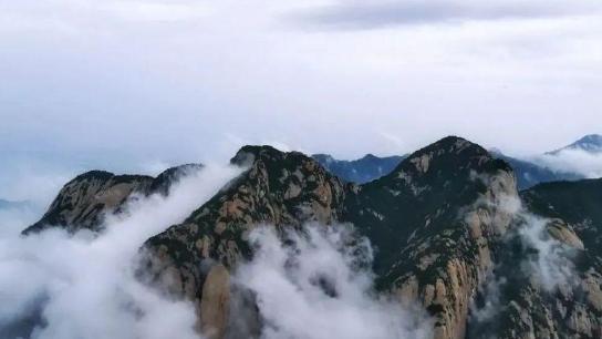 强降雨将至 华山景区临时关闭华山门