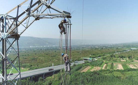 西安供电公司:完成330kV乐北II线年度检修