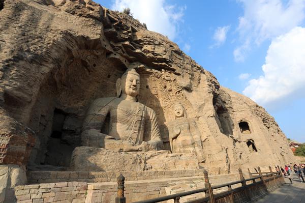 游山西·读历史   组图:云冈石窟——刻在石头上的北魏王朝