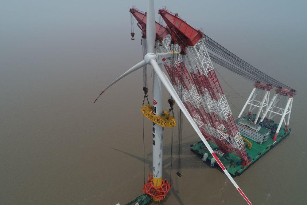 全国首个中外合资海上风电项目落地揭牌