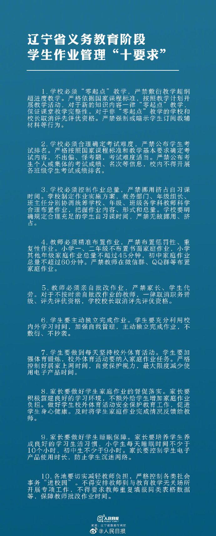 辽宁要求教师必须亲自批改作业 严禁家长代劳 2013辽宁科技大学综合分数要求