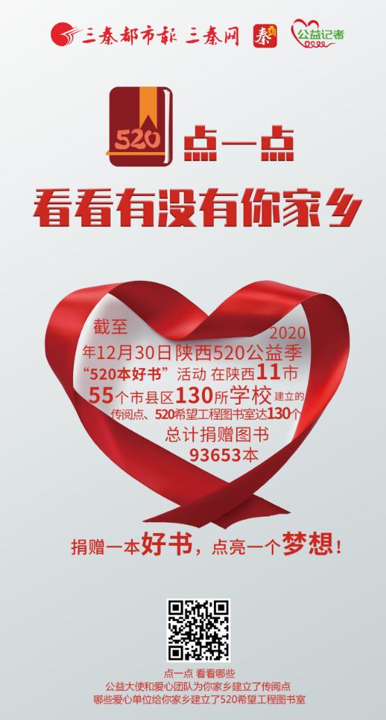 陕西130个520个好书传ζ阅点和图书室名单!9.3万本图书