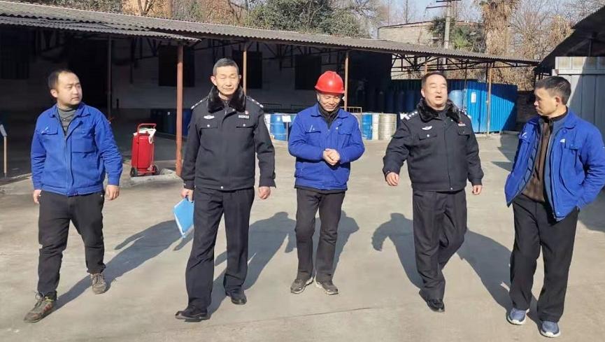 城固县公安局禁毒大队开展易制毒化学品专项检查