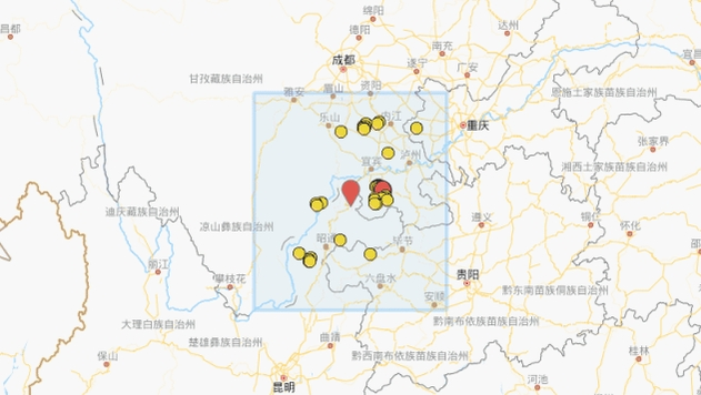 云南昭通市盐津县发生4.7级地震