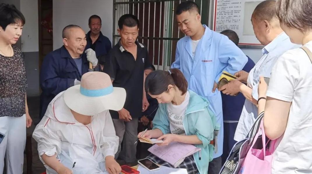 紫阳开展敬老院集中供养人员城乡养老保险待遇专项核查