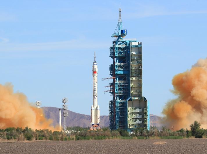 神州十二号载人飞船 发射圆满成功!