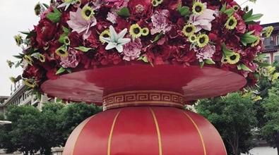鲜花盛放装点城市