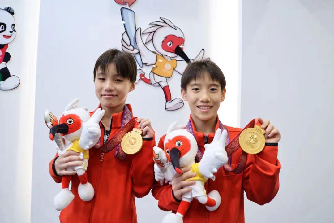 第十四届全国运动会竞技项目首金来了!