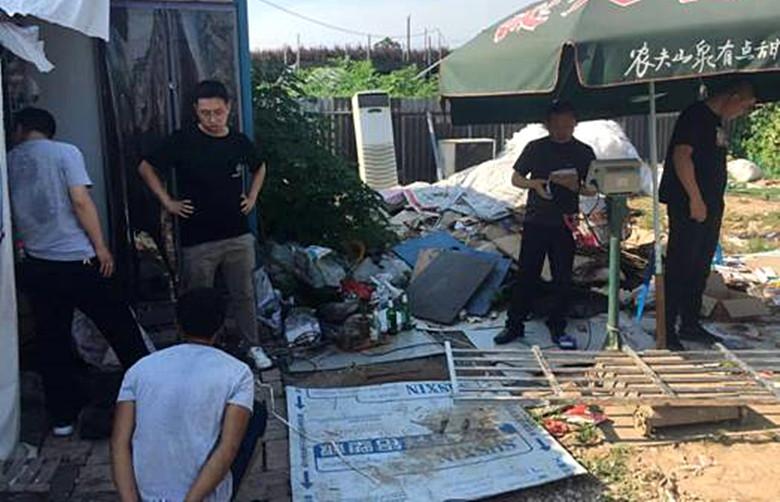 盗窃工地价值30万元电缆线当废品卖的团伙被秦都警方打掉