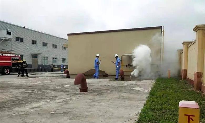 永寿公安开展天然气泄露抢险应急演练提升突发事故救援能力