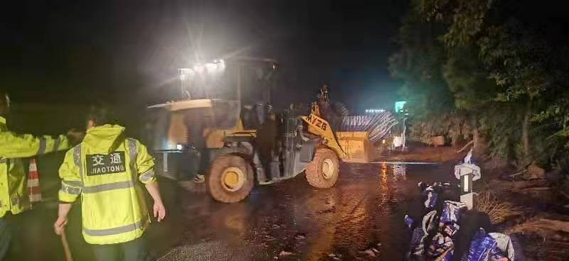 G70福银高速蓝商段水毁点抢险完成,道路恢复正常通行