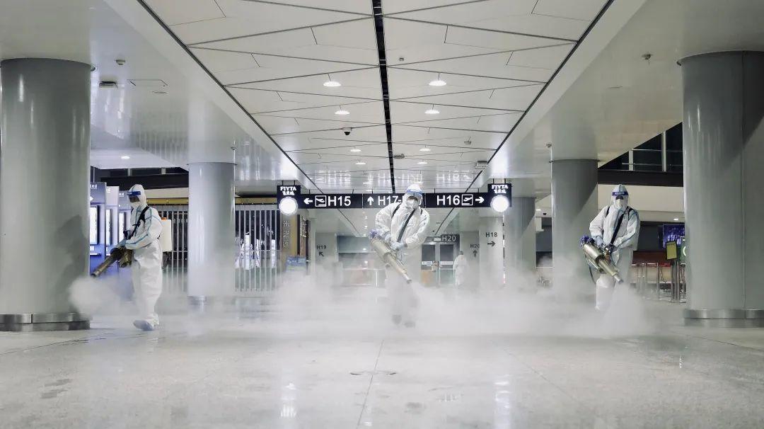 无死角!无盲区!全覆盖!西安咸阳国际机场预防性消杀措施再升级