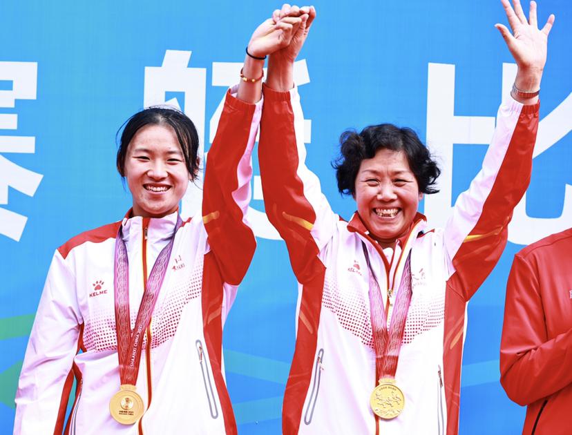 刘睿琦为陕西队斩获赛艇女子首枚金牌!