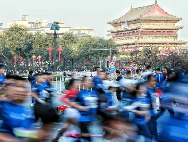 十四运会田径马拉松项目比赛9月26日举行  158条公交线路临时调整