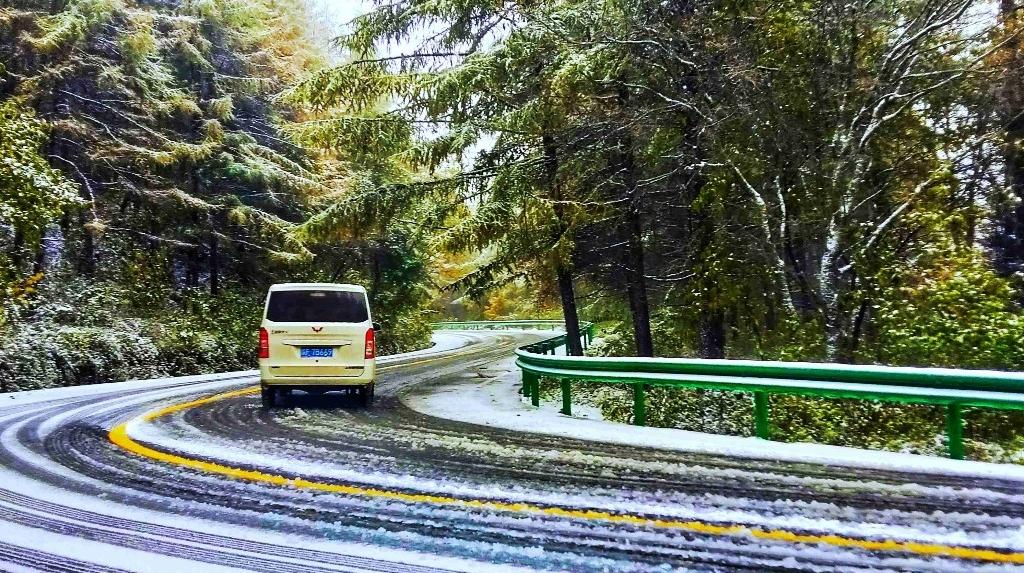 【图集】下雪了!陕西多地迎今年第一场雪