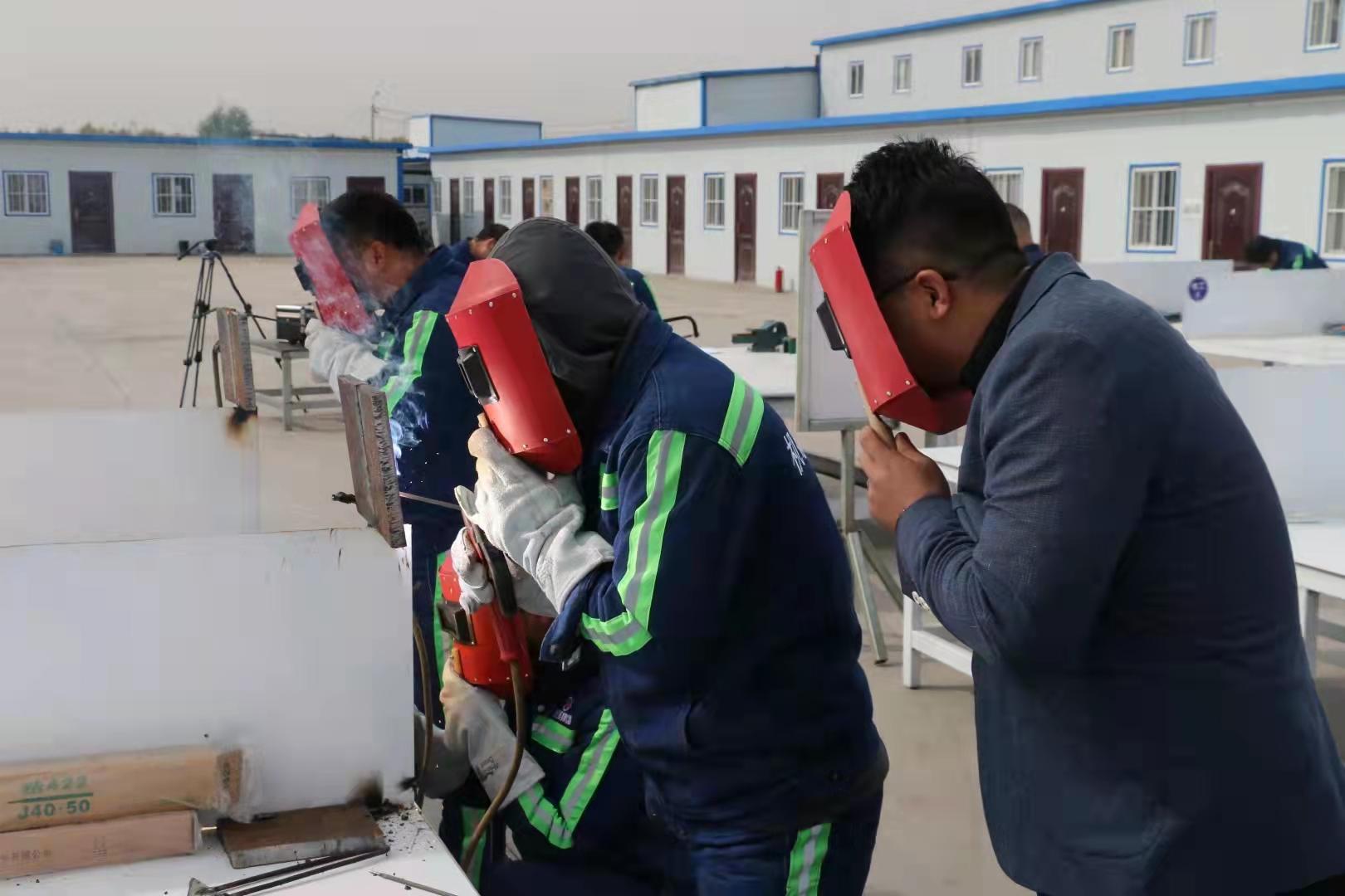 陕煤建设机电安装公司举办年度职工技能大比武