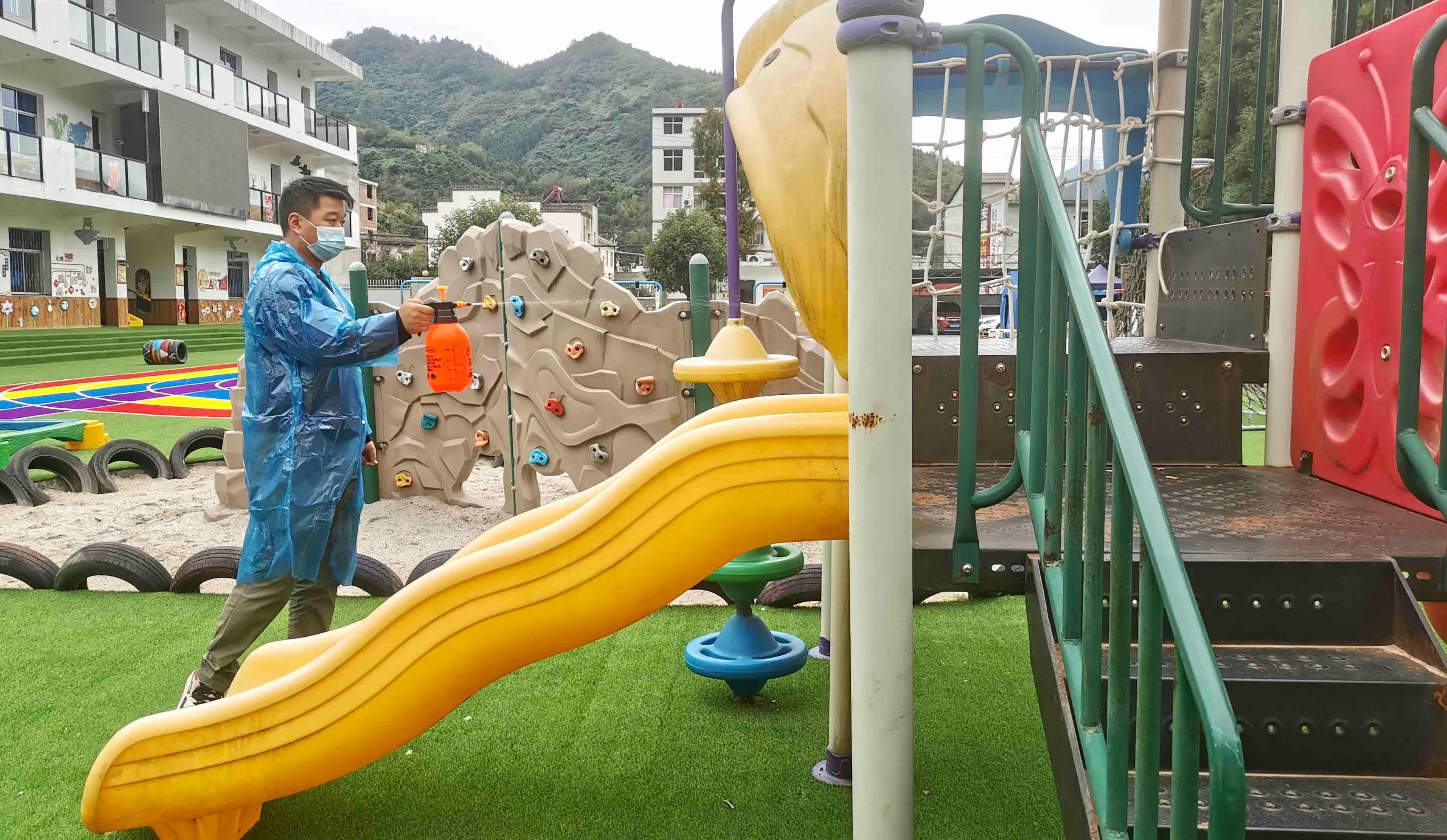 幼儿园多举措抓实秋季传染病防控工作
